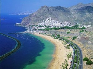 Veduta di Tenerife dall'alto