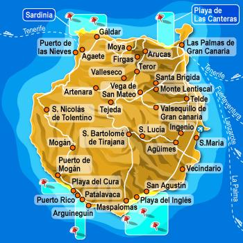 Gran Canaria: non esistono voli diretti dall\'Italia ...